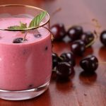 Smoothie youart fruits rouges