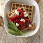 gaufres blé noir fraises