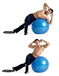 crunch-lateral-ballon-exercice