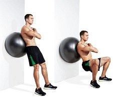 squat-balle-gym-mur
