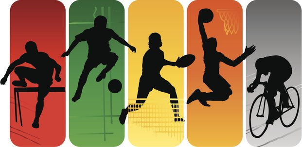 Sport silhouettes