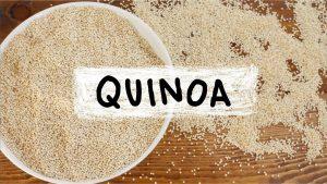 Quinoa crevettes recette sport