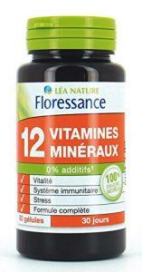 Floressance 12 Vitamines/Minéraux Gélule 39 g