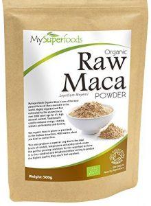 Maca organique en poudre (500g) | La plus haute qualité disponible | Par MySuperfoods