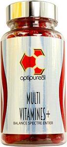 Multivitamines – Nouveau Look – Formule Plus Forte – Apport complet de Vitamine C, E, D, D3, A, B12, B1 et B2 – 120 capsules - Augmente l'énergie et apporte tous les éléments essentiels – Résultat rapide – Fabriqué en Grande Bretagne – Garanti 100% remboursé.
