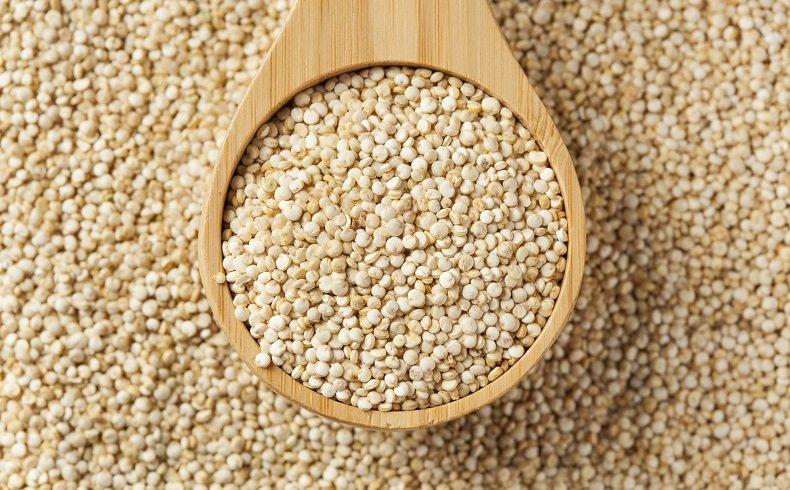 Fibres dans le quinoa