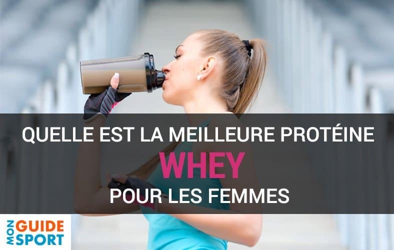whey pour les femmes