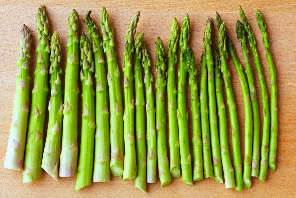 Protéines Végétales dans les aspèrges