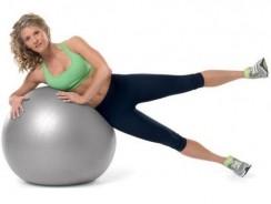 Exercices pour muscler les jambes avec ballon de gym