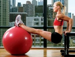 15 minutes d'exercices avec Swiss Ball – Full Body